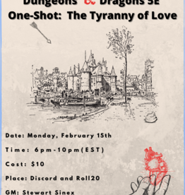 D&D5E One-Shot The Tyranny of Love