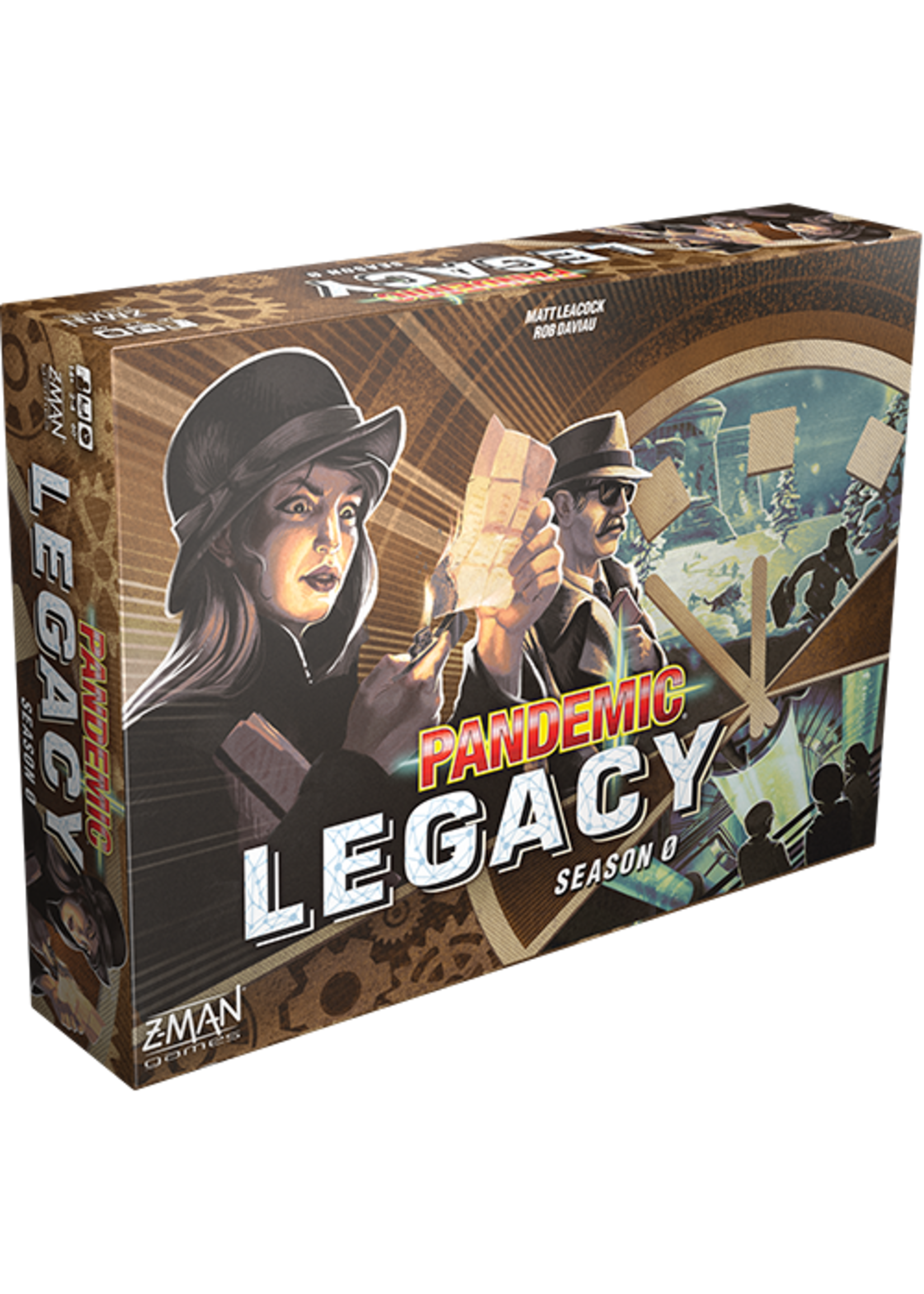 Pandemic Legacy: Season 0