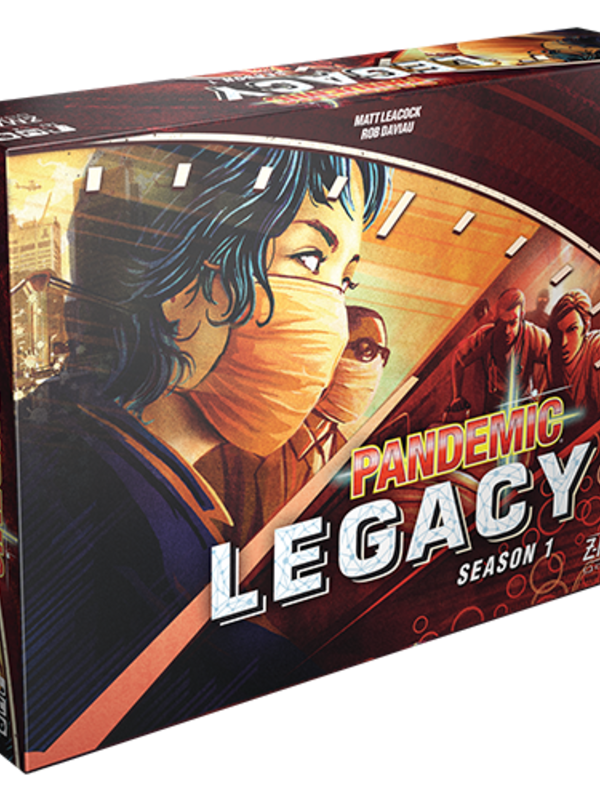 Pandemic Legacy: Season 1 (Red Edition)