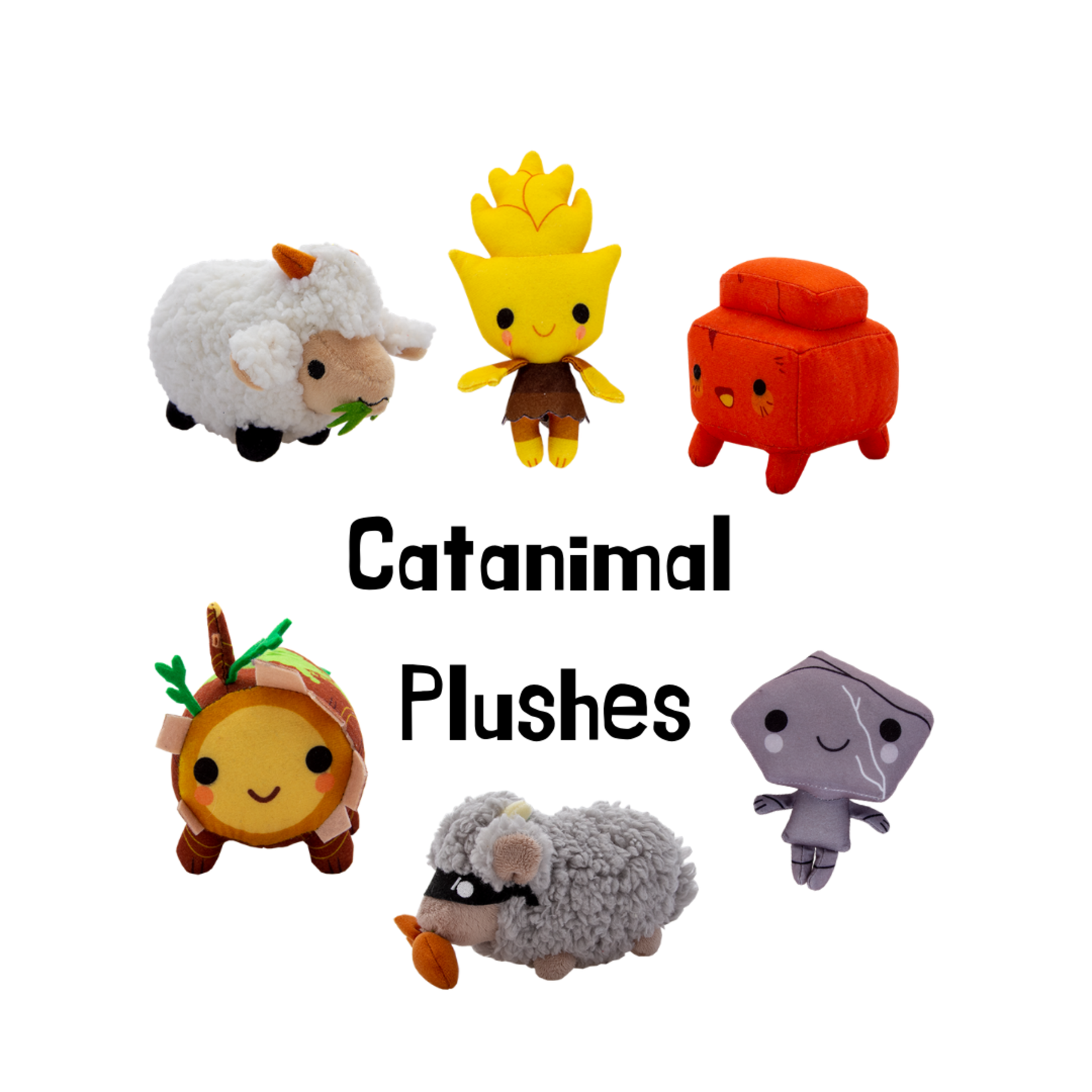 CATANIMAL Plushies