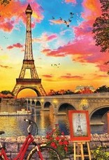 Paris Sunset 1000 Piece Puzzle