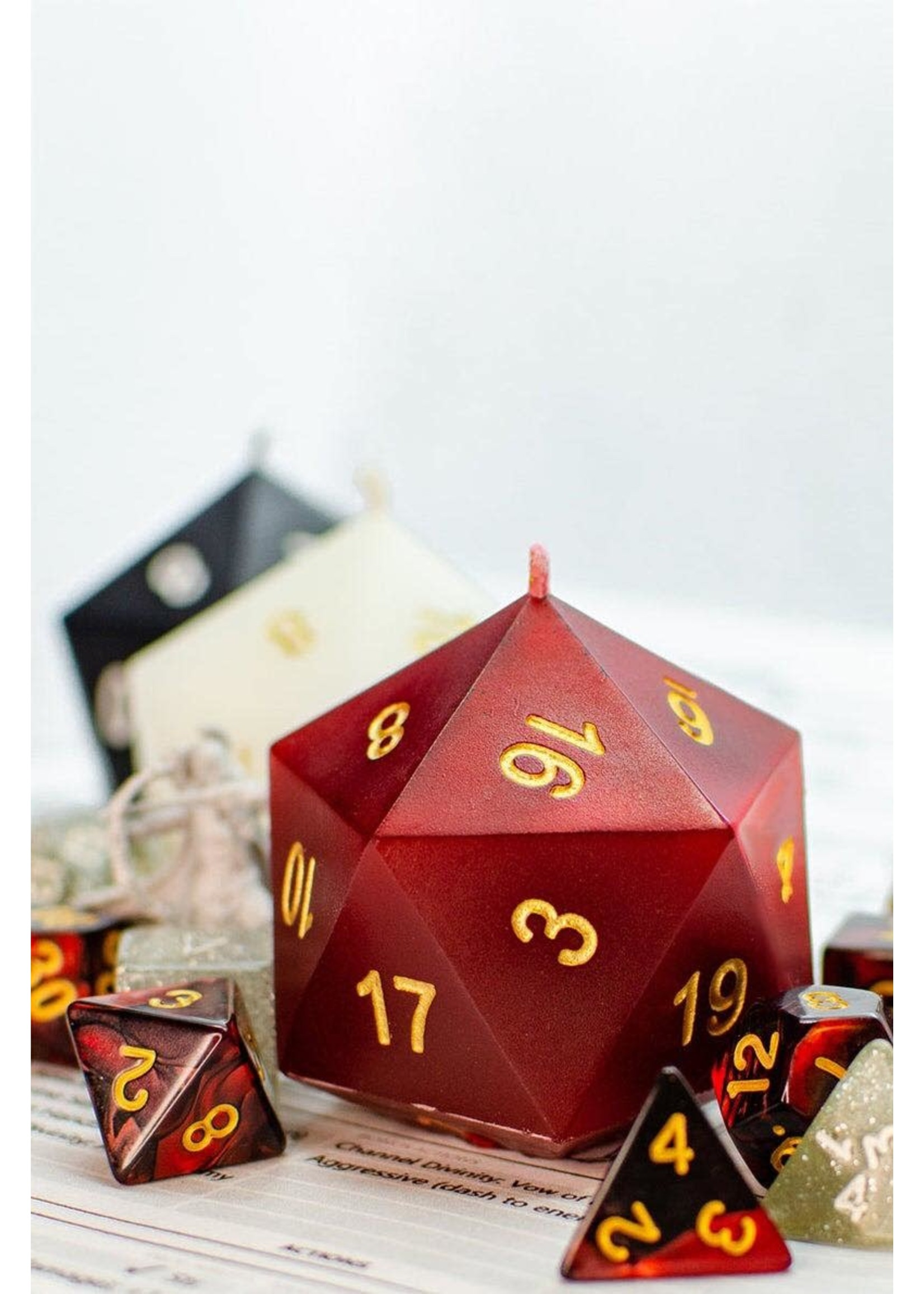 D20 Scented Candles