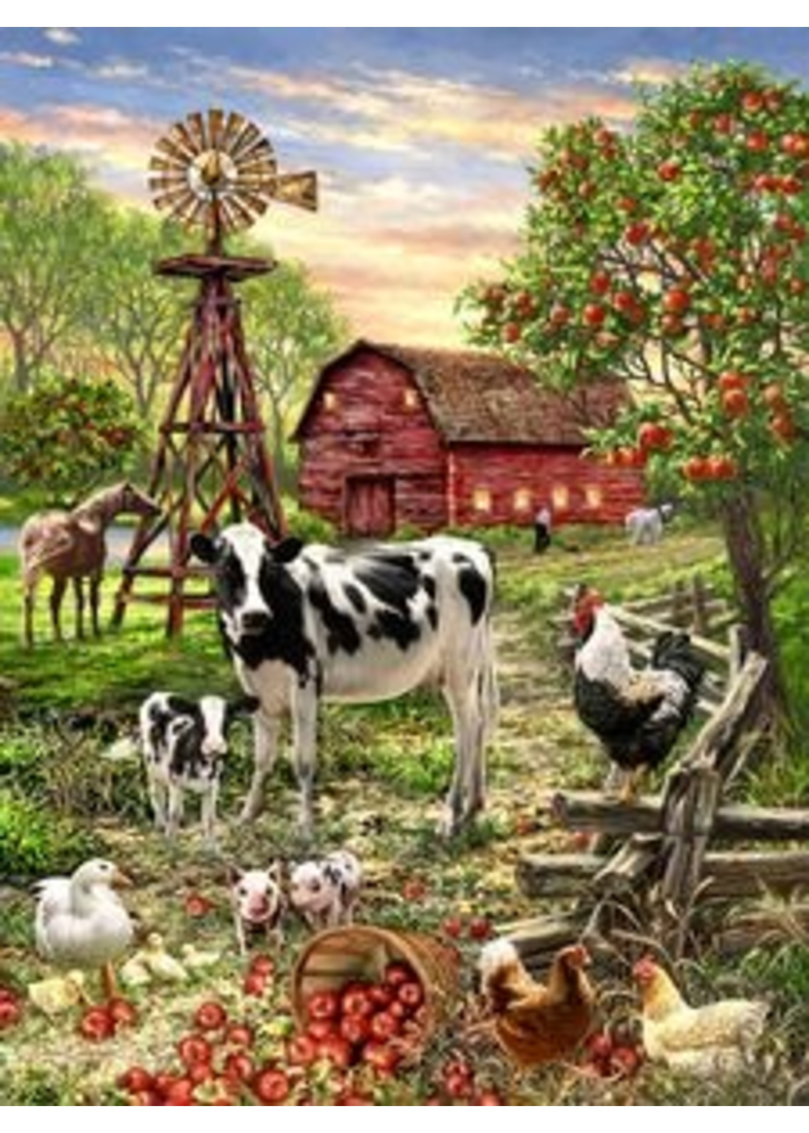 Barnyard Animals 500 PC