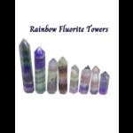Rainbow Fluorite Tower
