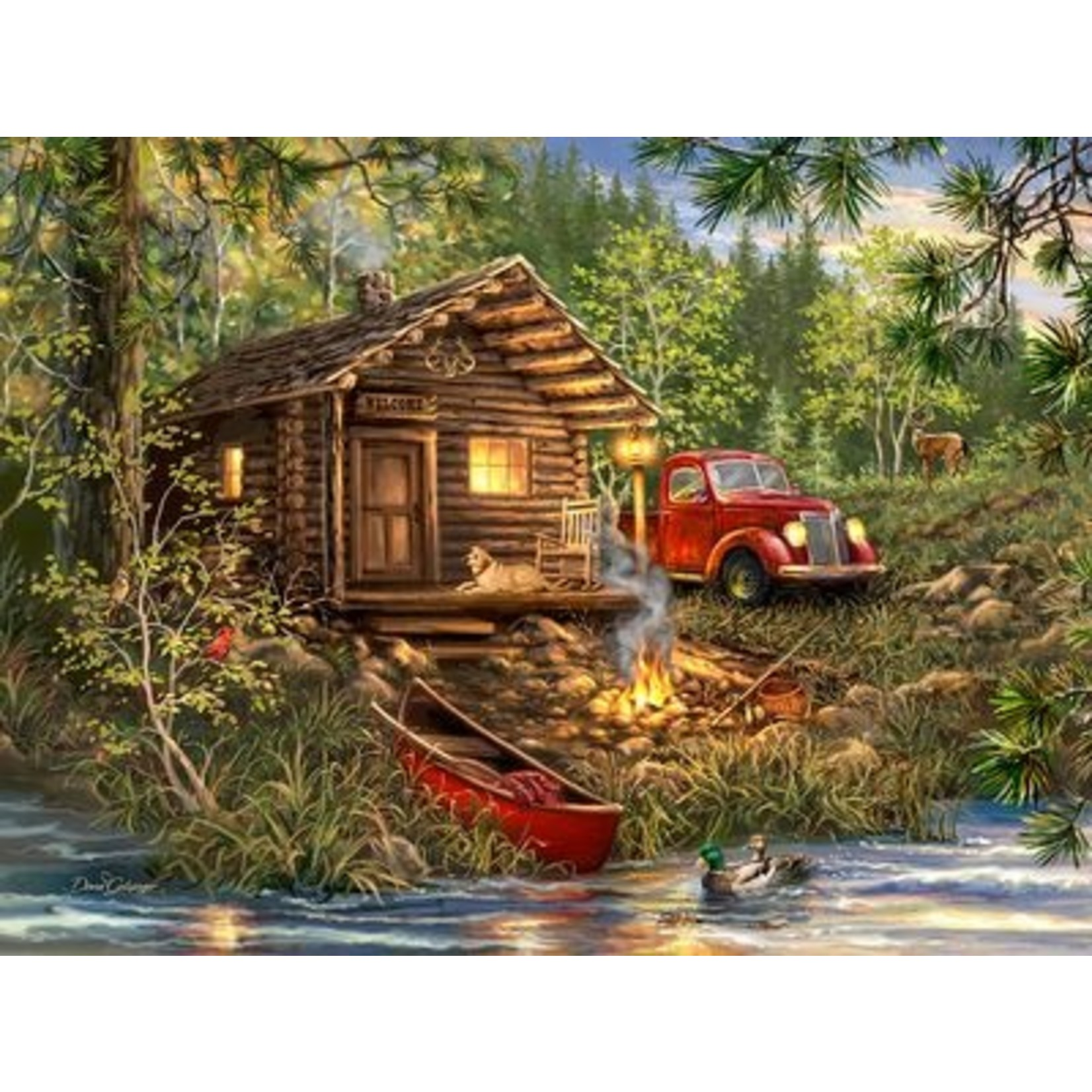 Cozy Cabin Life