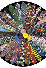 It's a Tie! 500 Piece Round Jigsaw Puzzle
