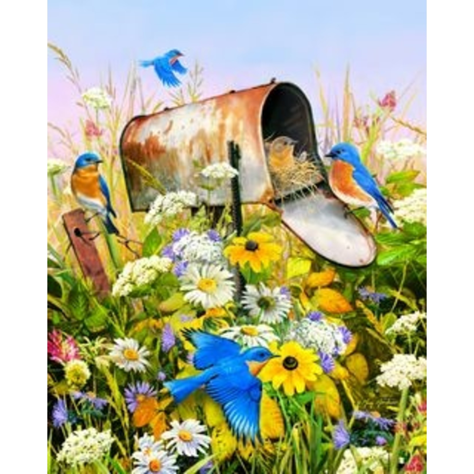 BLUEBIRDS 500 PIECE JIGSAW PUZZLE