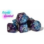 Halfsies Dice - Psionic Combat (7 Polyhedral Dice Set)