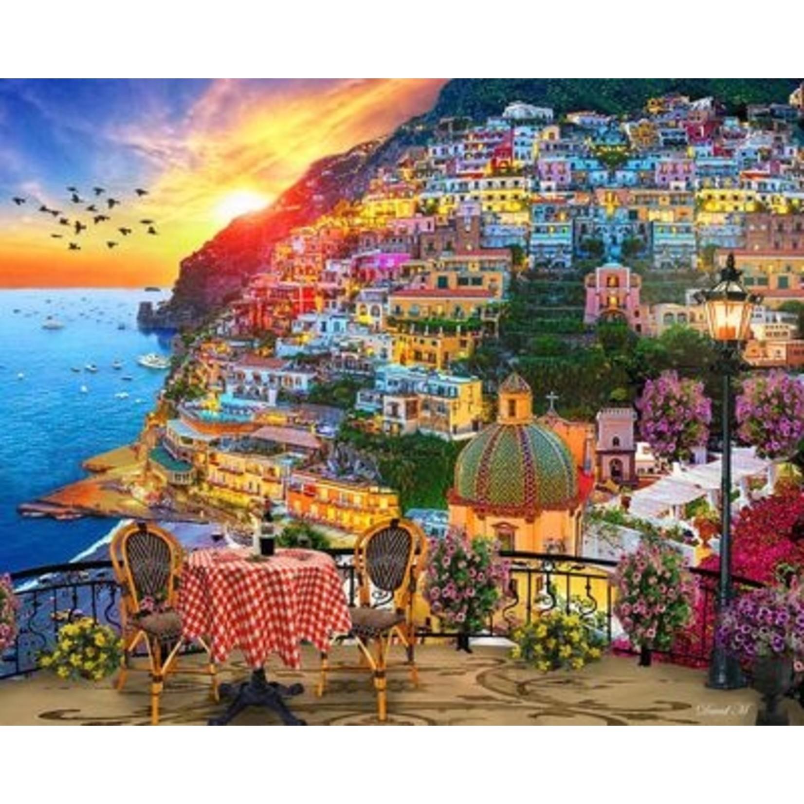 POSITANO ITALY 1000 PIECE JIGSAW PUZZLE