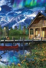 MOON CABIN RETREAT 1000 PIECE JIGSAW PUZZLE