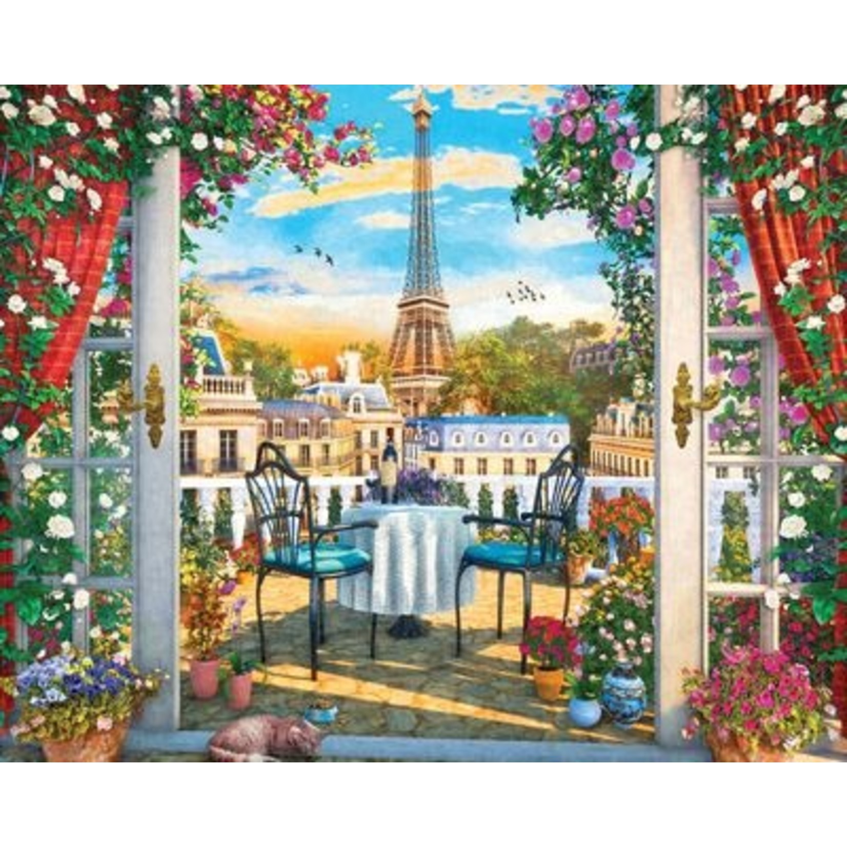 LUXURIOUS LOOKOUT 1000 PIECE JIGSAW PUZZLE