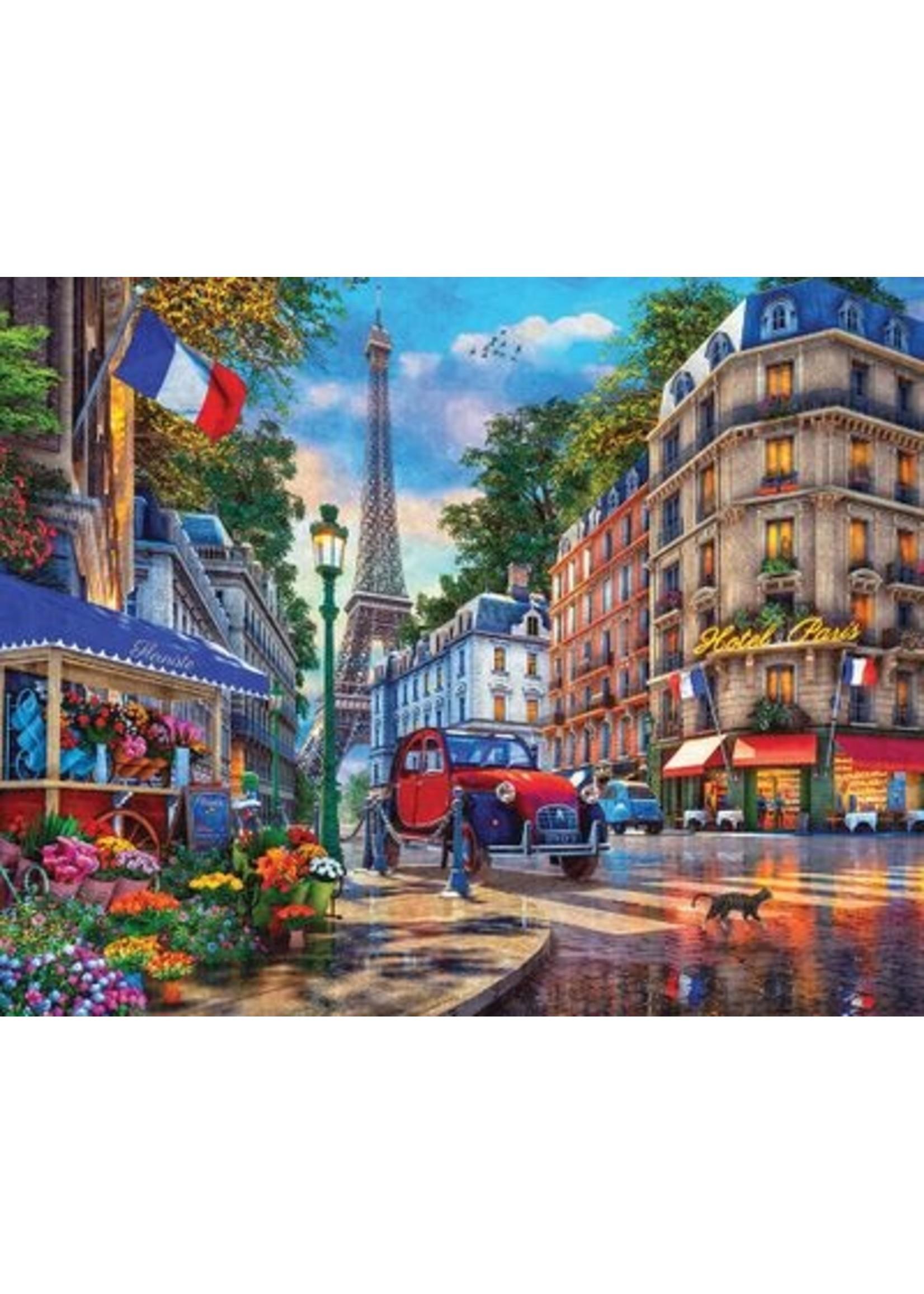 PARIS STREET LIFE 1000 PIECE JIGSAW PUZZLE