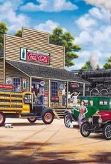 COCA-COLA ALL ABOARD 1000 PIECE JIGSAW PUZZLE