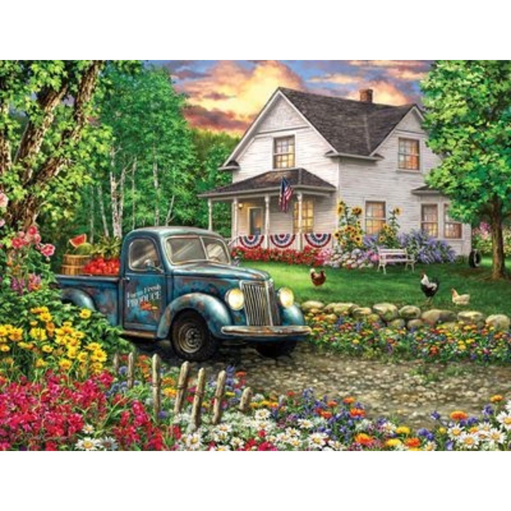 SIMPLER TIMES 500 PIECE JIGSAW PUZZLE