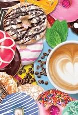 DONUTS N' COFFEE 500 PIECE JIGSAW PUZZLE