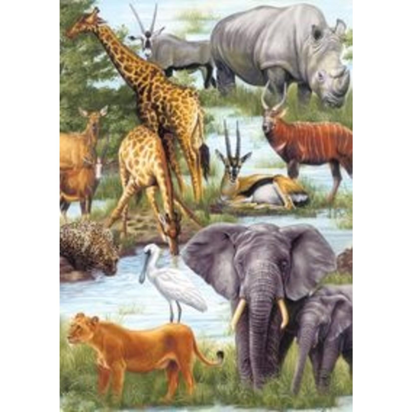 ANIMAL KINGDOM 60 PIECE JIGSAW PUZZLE