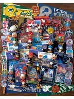 FOOTBALL FANTASY 1000 PIECE JIGSAW PUZZLE