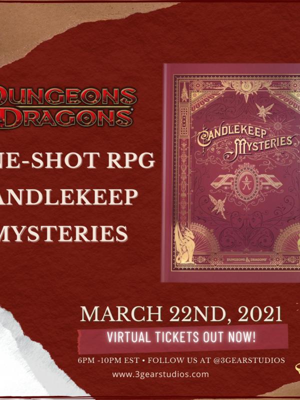 D&D5E One-Shot D&D Candlekeep  Mysteries