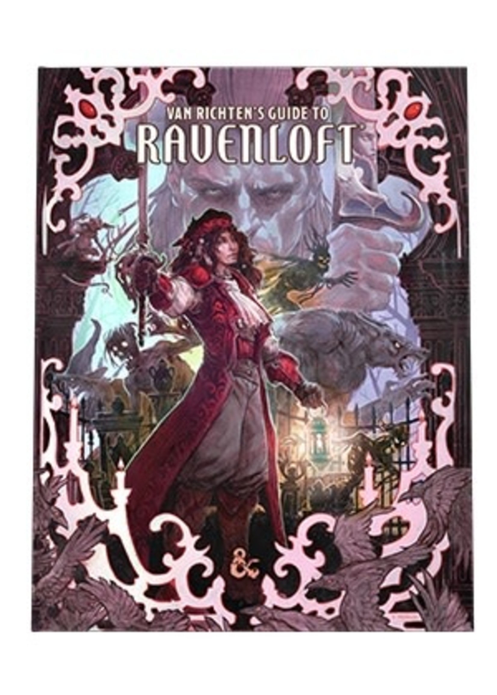 PRE-ORDER Dungeons and Dragons RPG: Van Richten`s Guide to Ravenloft Hard Cover - Alternate Cover