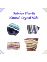 Rainbow Fluorite Slabs