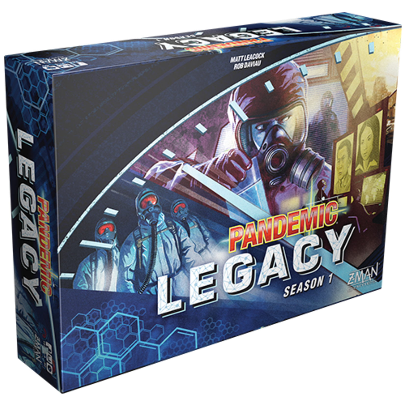 Pandemic: Legacy Season 1 (Blue Edition)