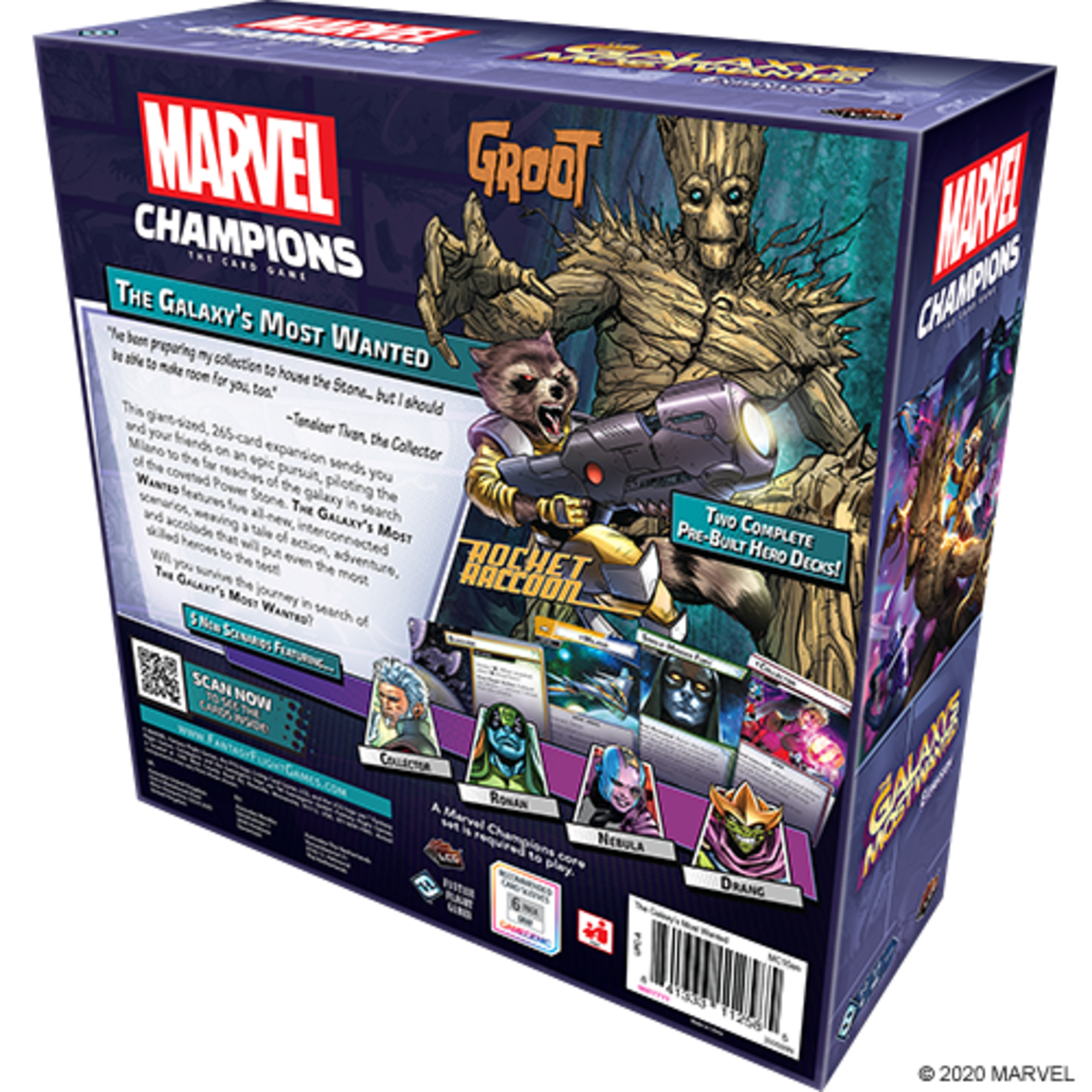 Pre-Order Marvel Champions LCG: The Galaxy's Most Wanted