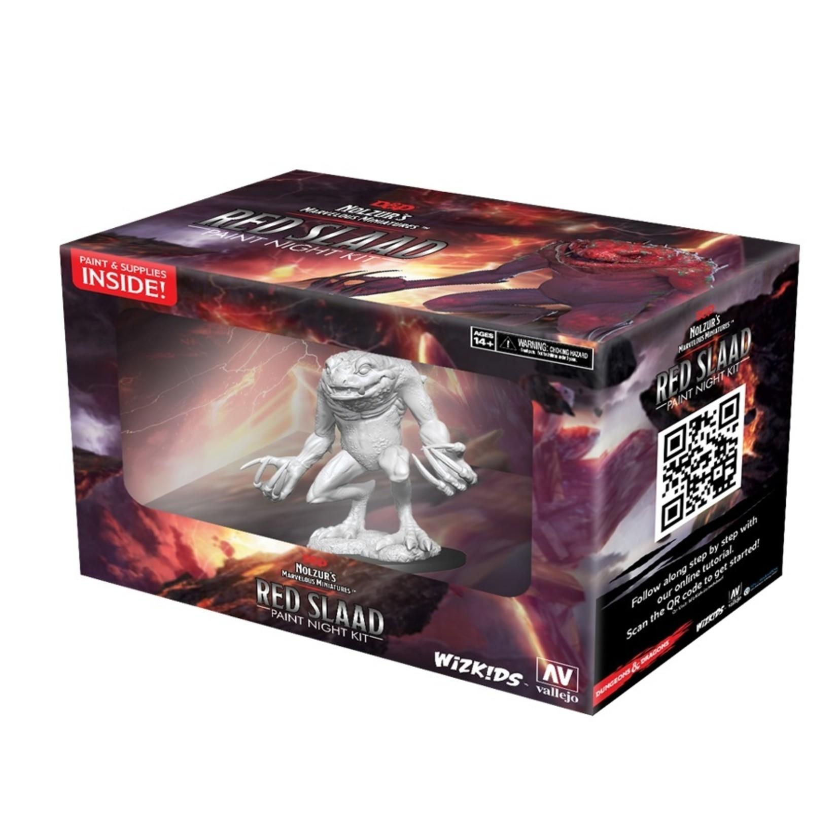 Dungeons & Dragons Nolzur`s Marvelous Miniatures: Red Slaad Virtual Paint Night Kit