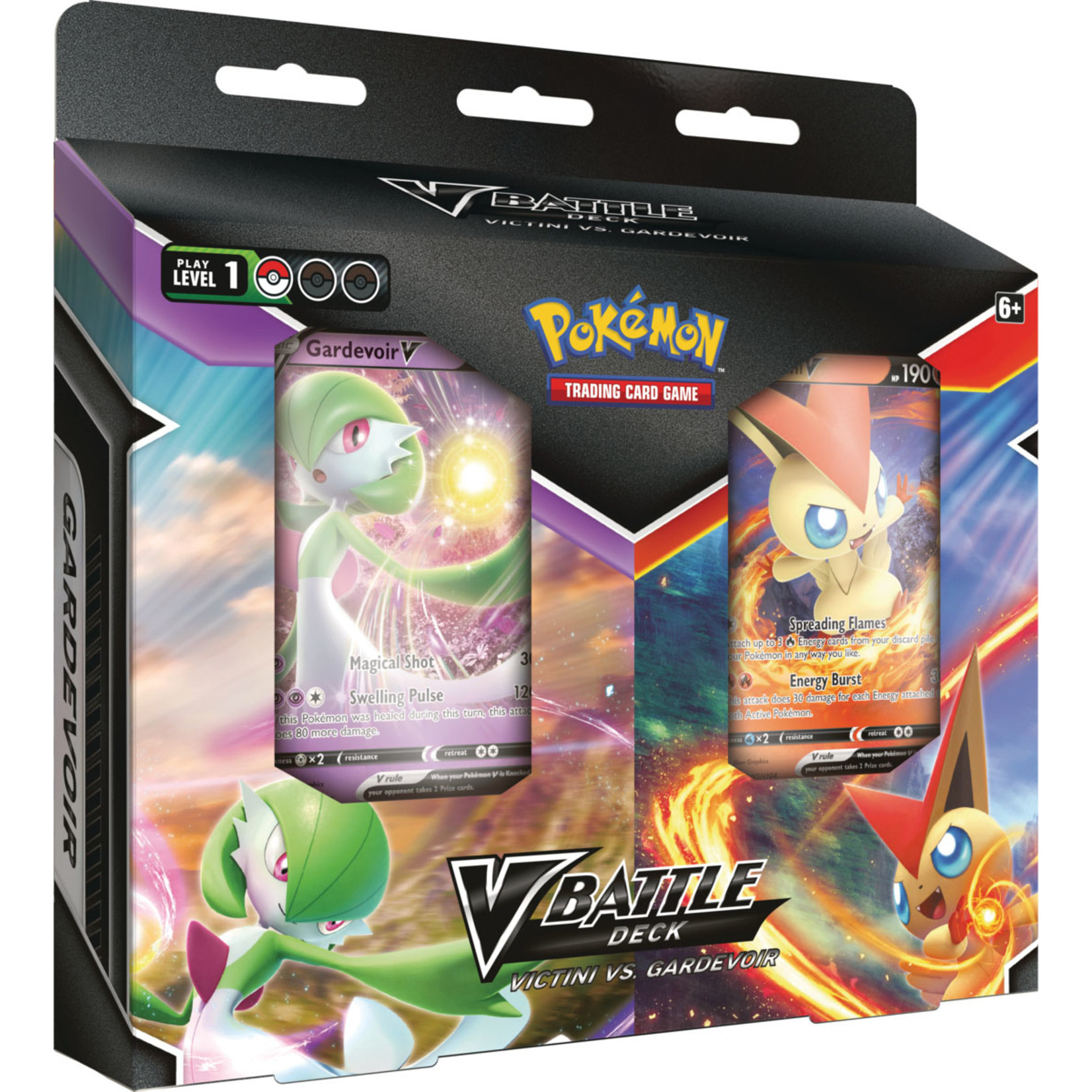 Pokemon TCG: V Battle Deck - Victini VS Gardevoir Double Deck Bundle