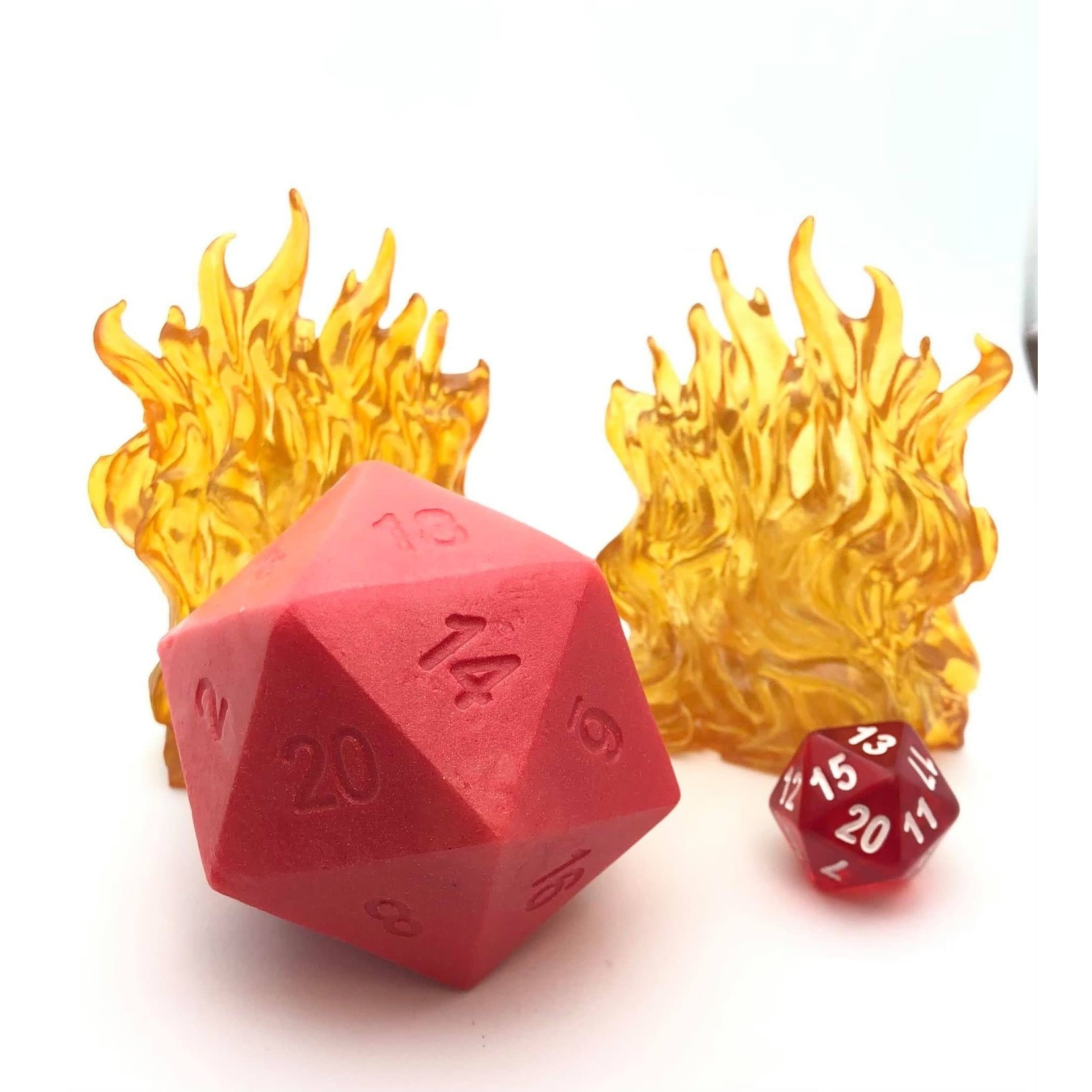 Handcrafted D20 Dice Soap