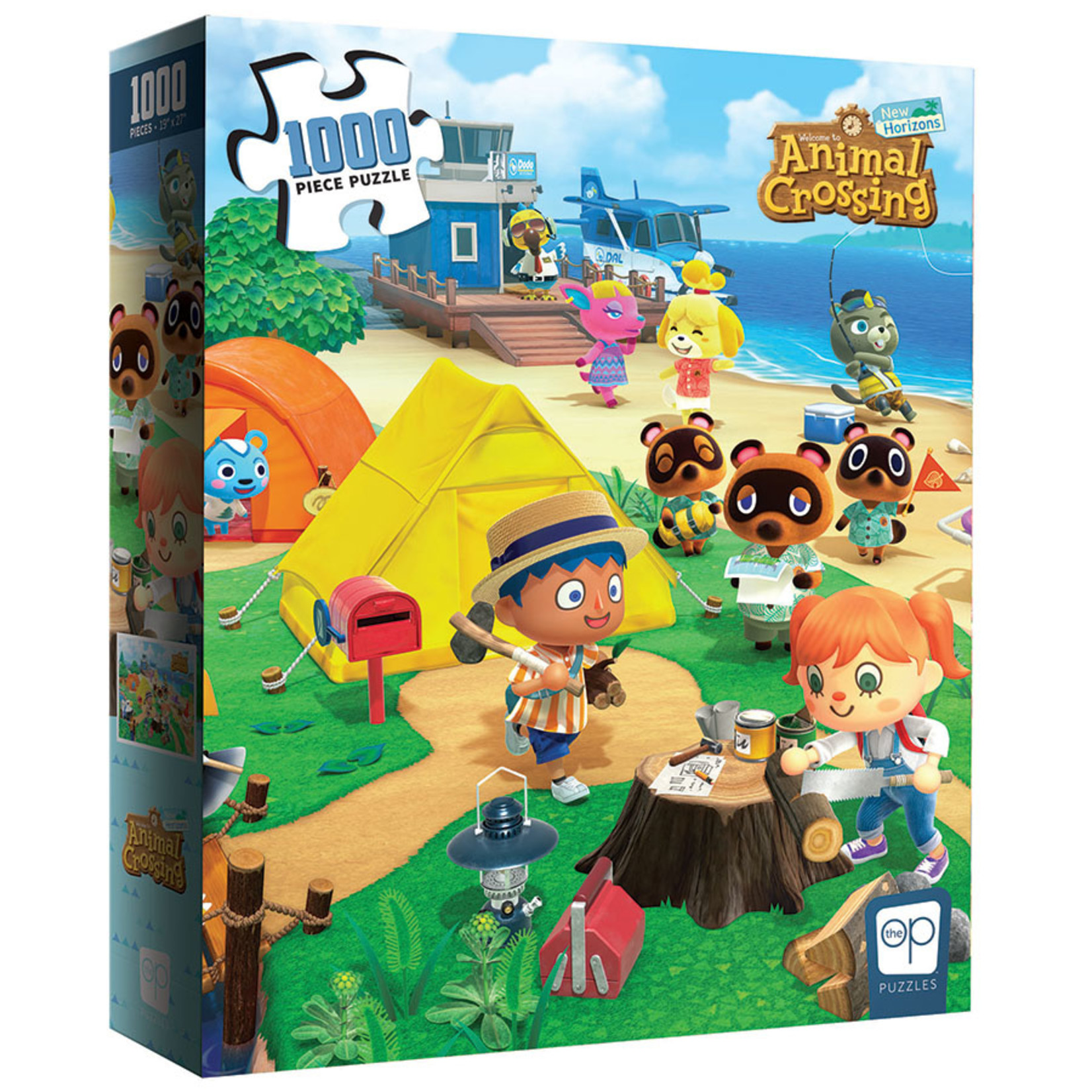 Animal Crossing - New Horizons - Welcome to Animal Crossing 1000pcs Puzzle