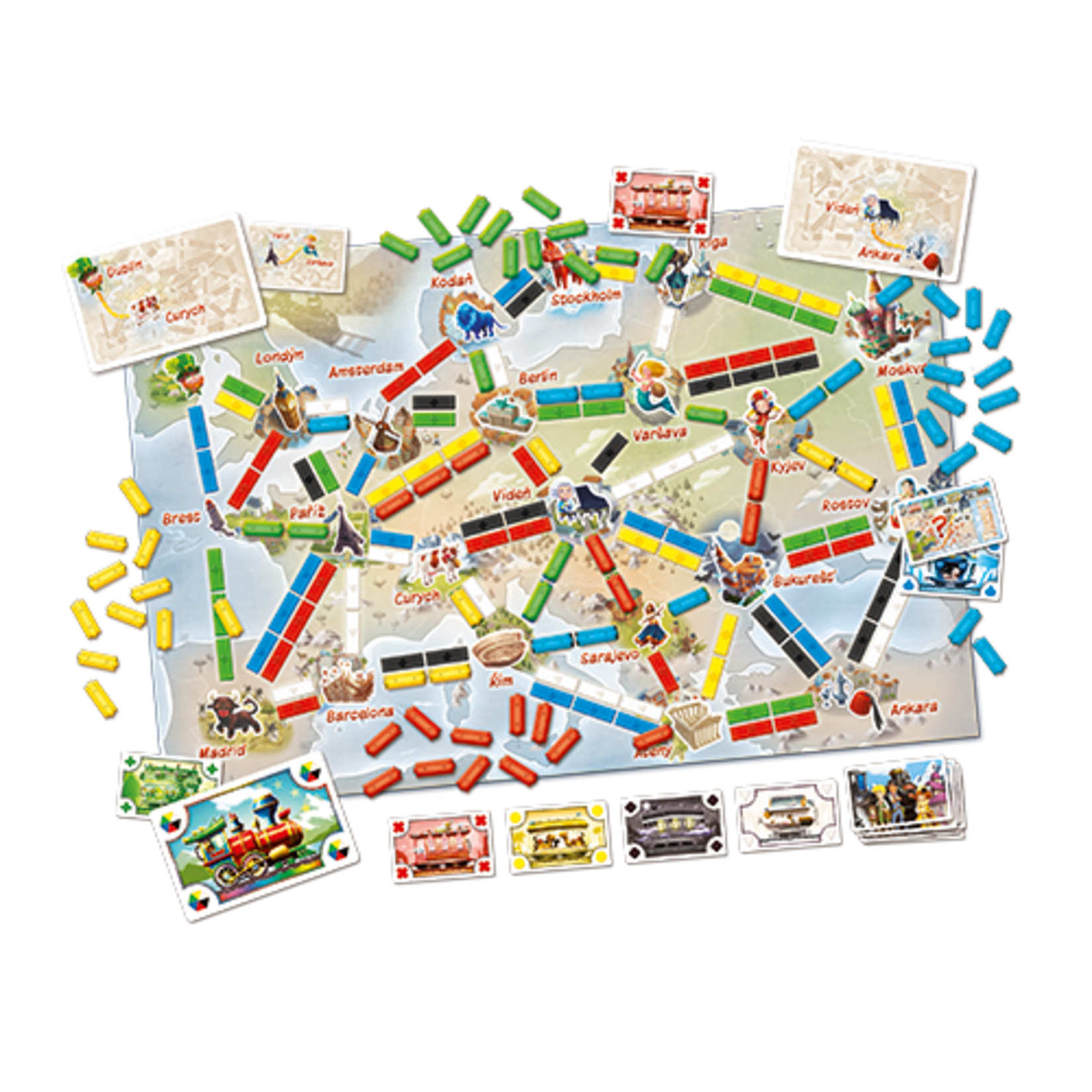 Ticket to Ride: Europe: First Journey