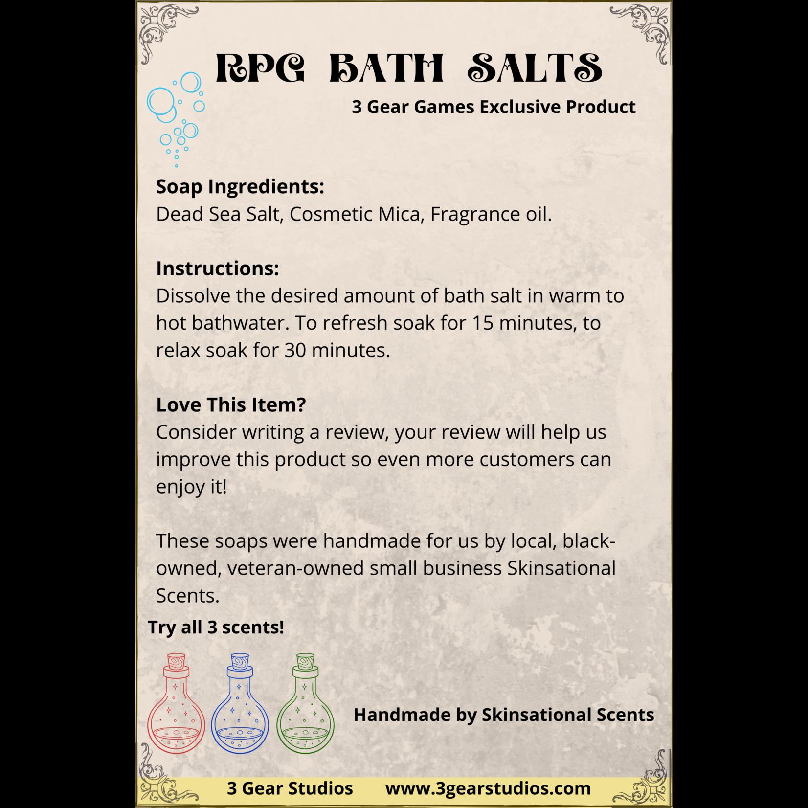 RPG Bath Salt Potions