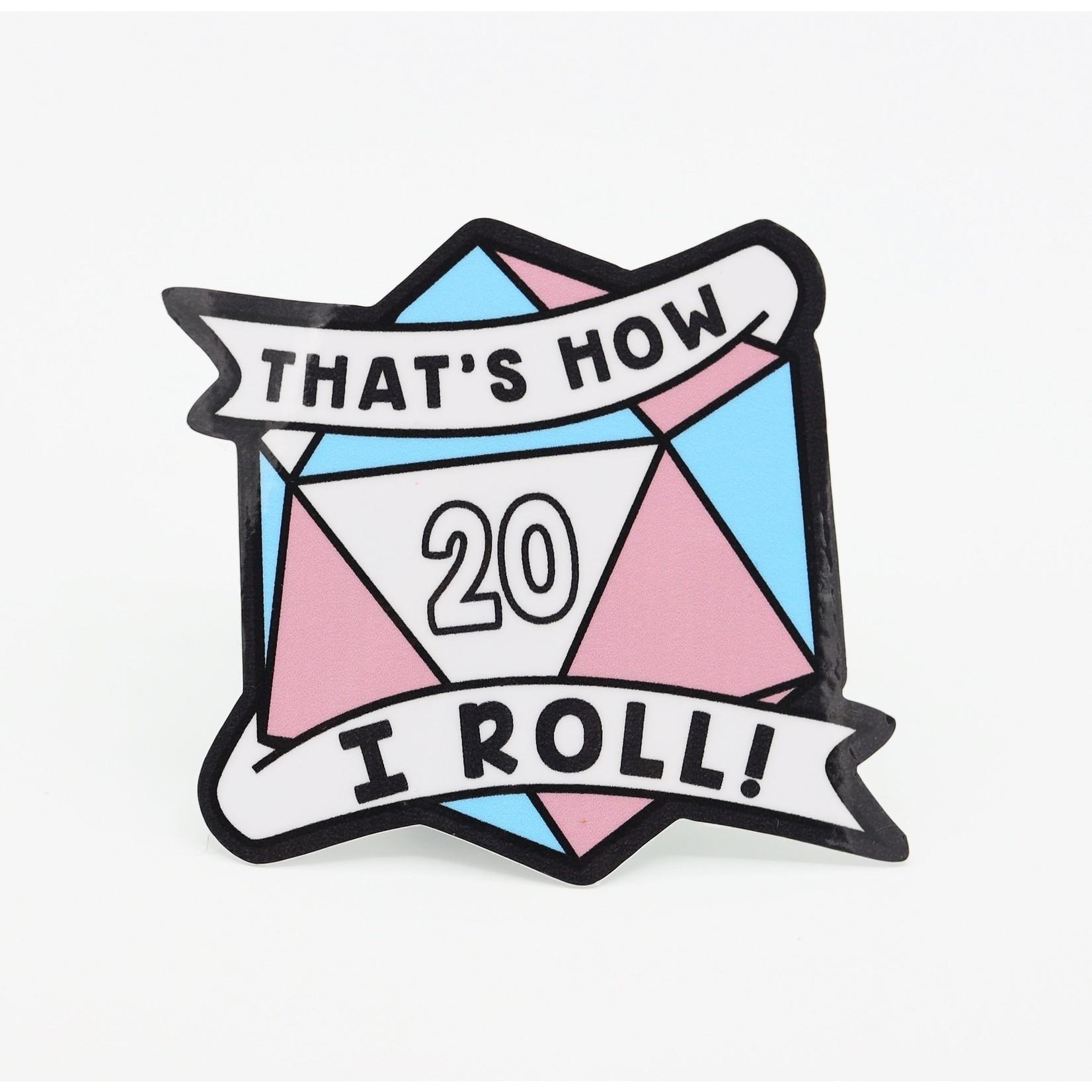 D20 Pride Stickers