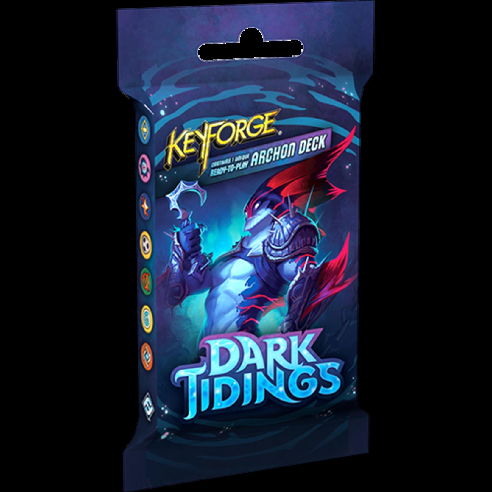 KeyForge Dark Tidings Archon Deck Display