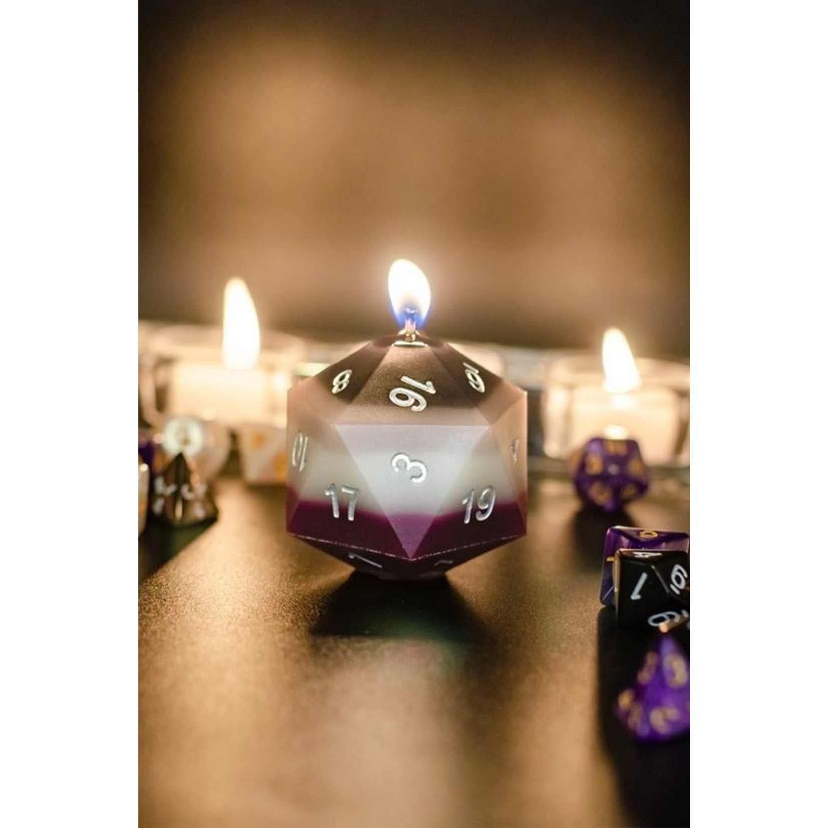 Pride D20 Scented Candles
