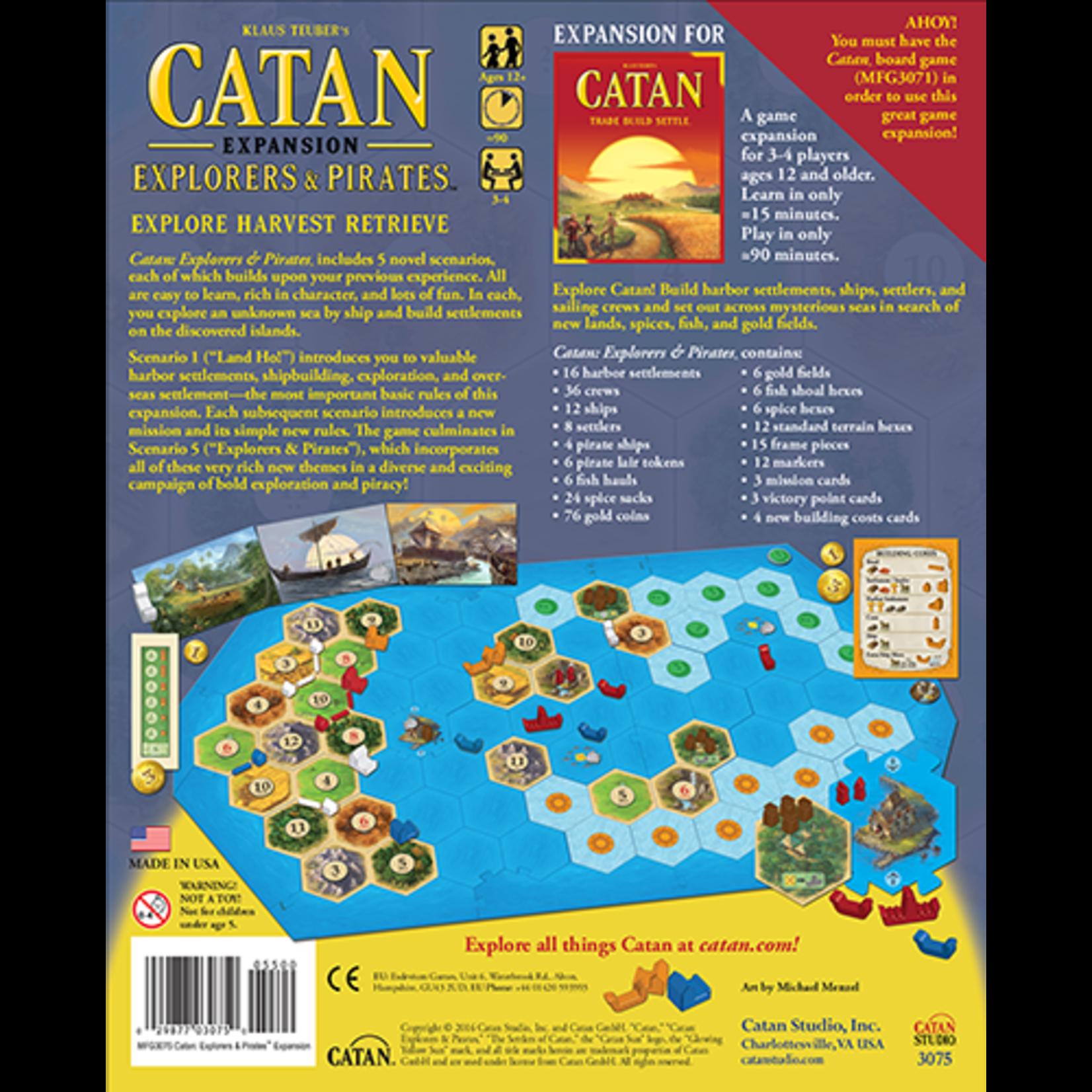 Catan Exp: Explorers & Pirates