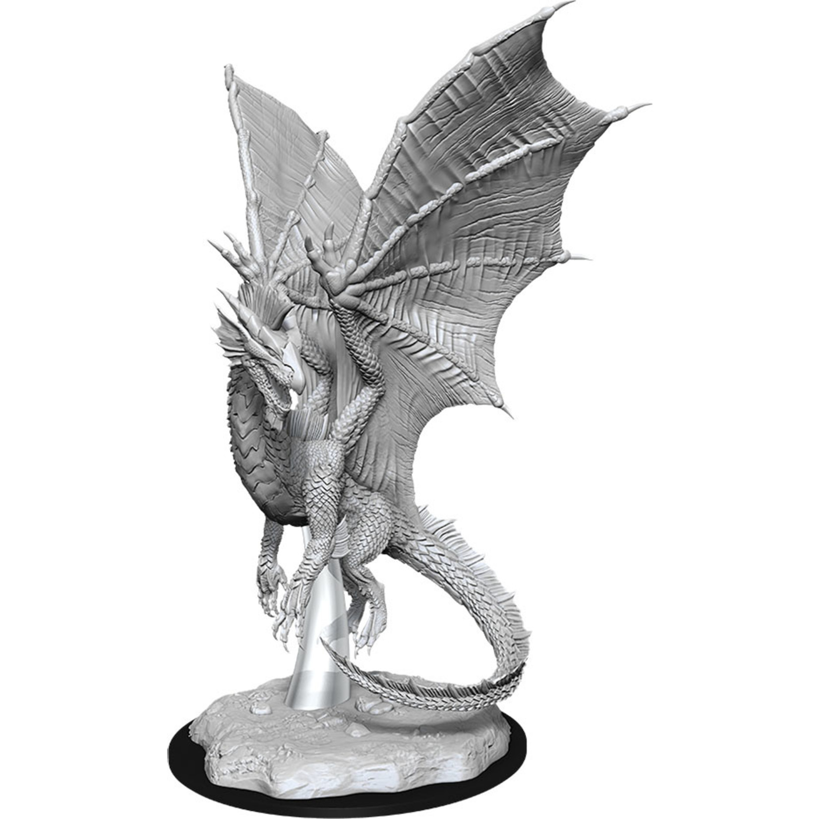 Dungeons & Dragons Nolzur`s W11 Young Silver Dragon