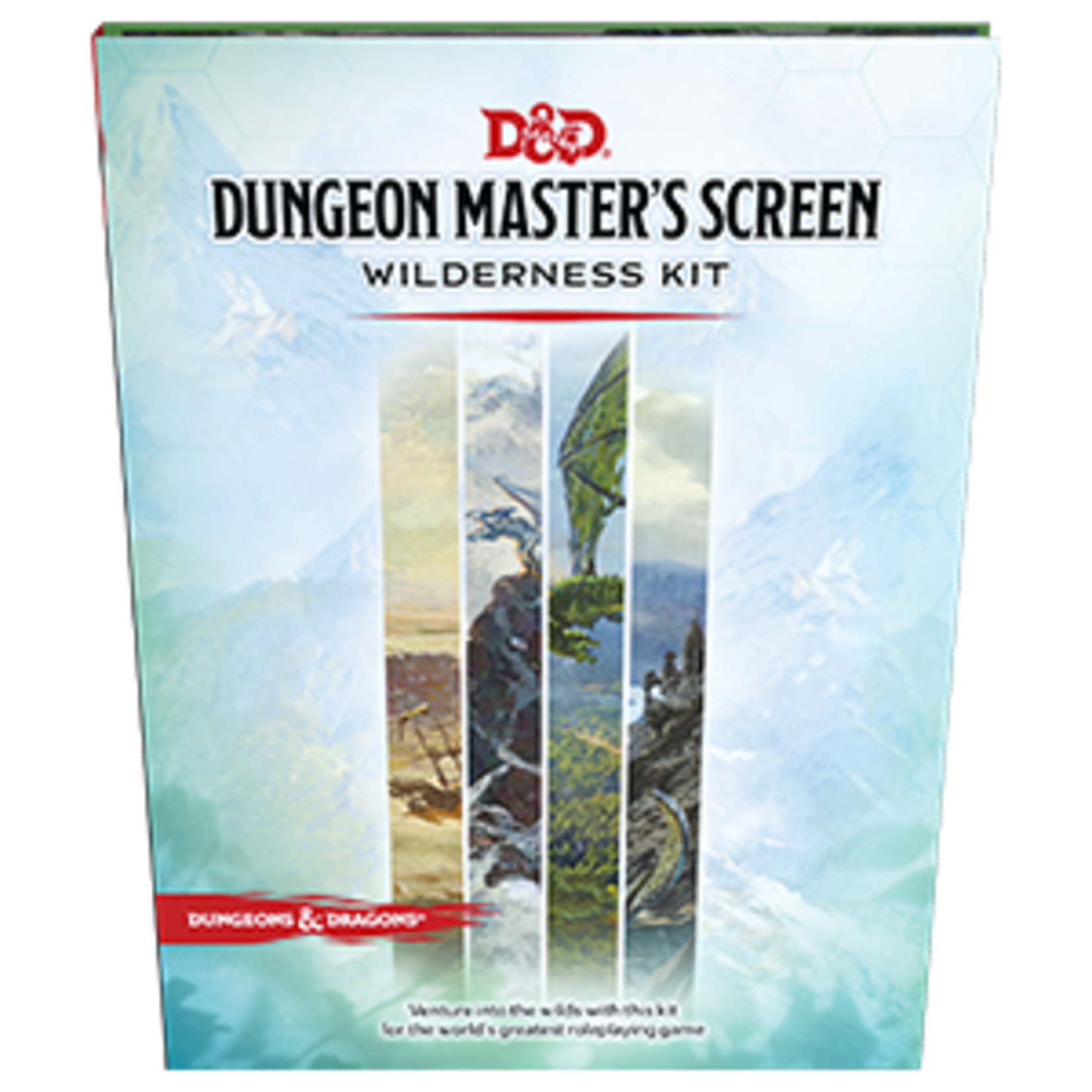 Dungeons and Dragons RPG: Dungeon Master`s Screen  Wilderness Kit