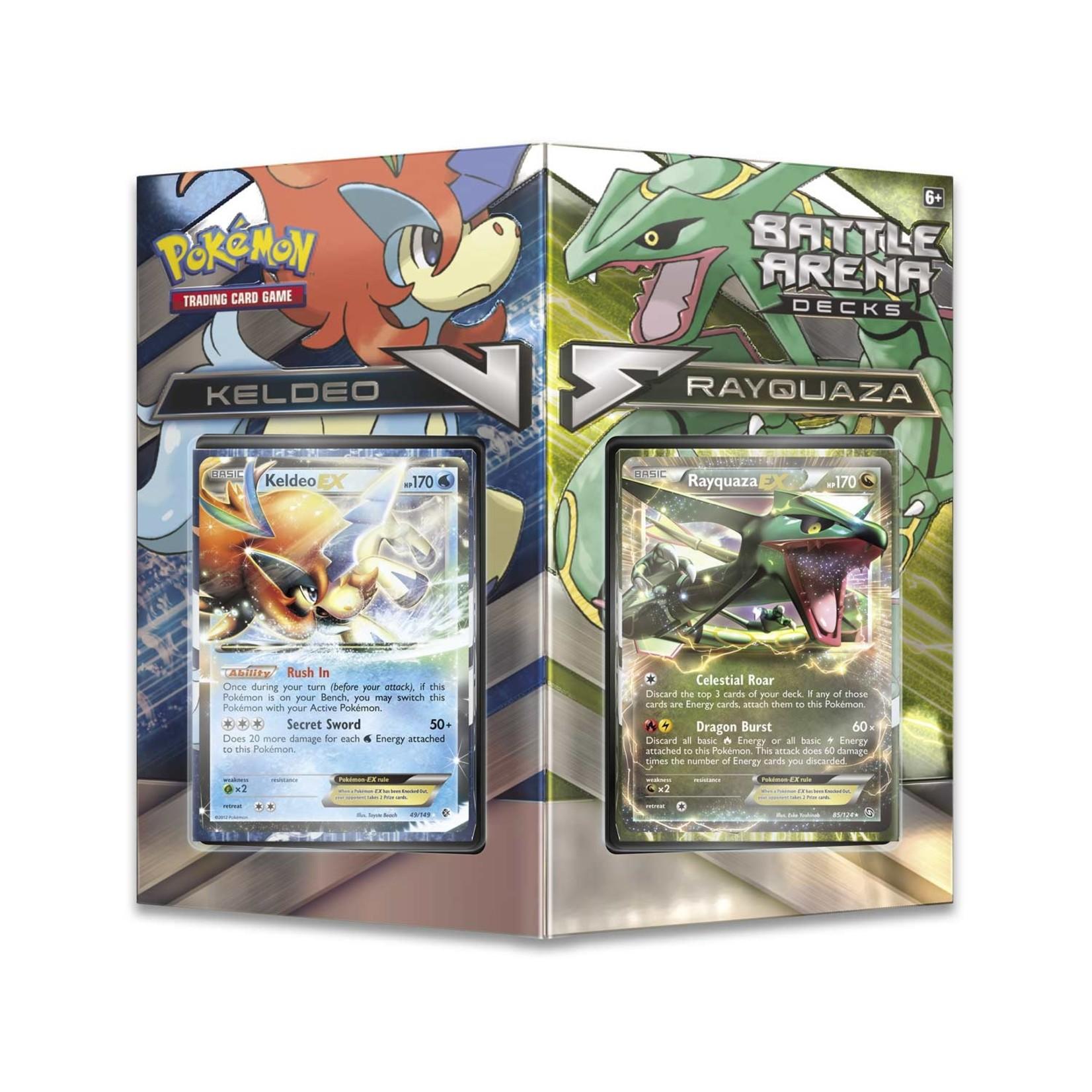 Pokemon TCG: Battle Arena Decks, Rayquaza vs. Keldeo