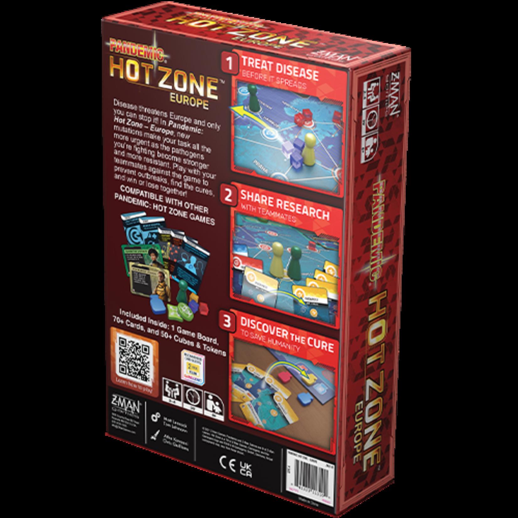 Pandemic: Hot Zone - Europe