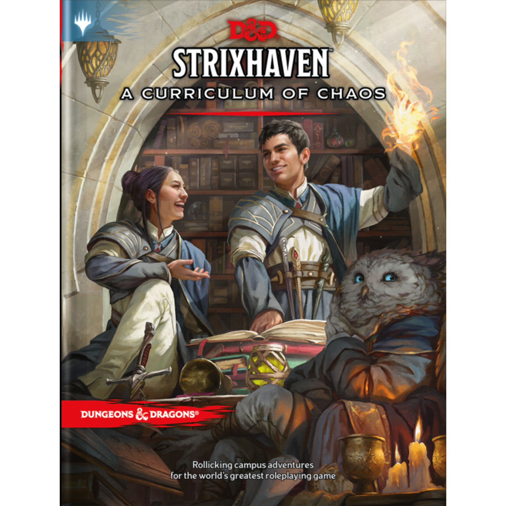 PRE-ORDER Dungeons and Dragons RPG: Strixhaven - Curriculum of Chaos