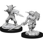 Male Goblin Rogue & Female Goblin Bard