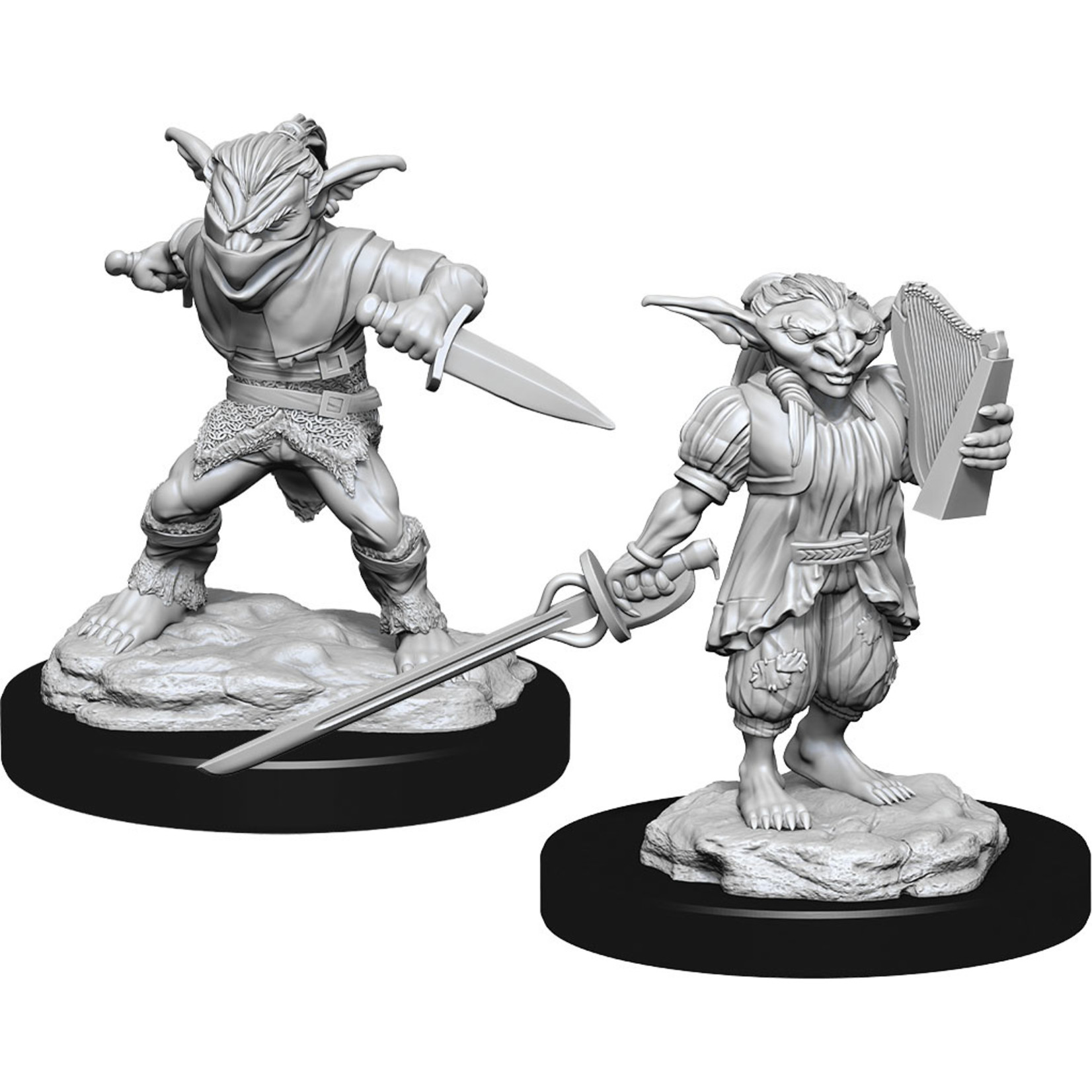 Dungeons & Dragons Nolzur`s Marvelous W15 Male Goblin Rogue & Female Goblin Bard