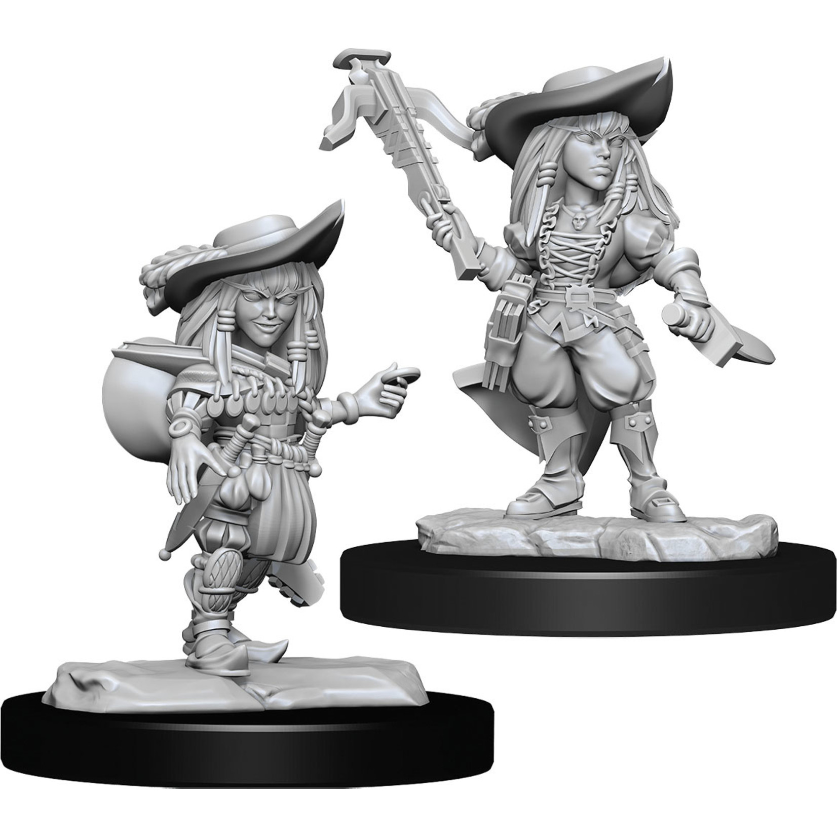 Pathfinder Deep Cuts Unpainted Miniatures: W15 Gnome Bard Female