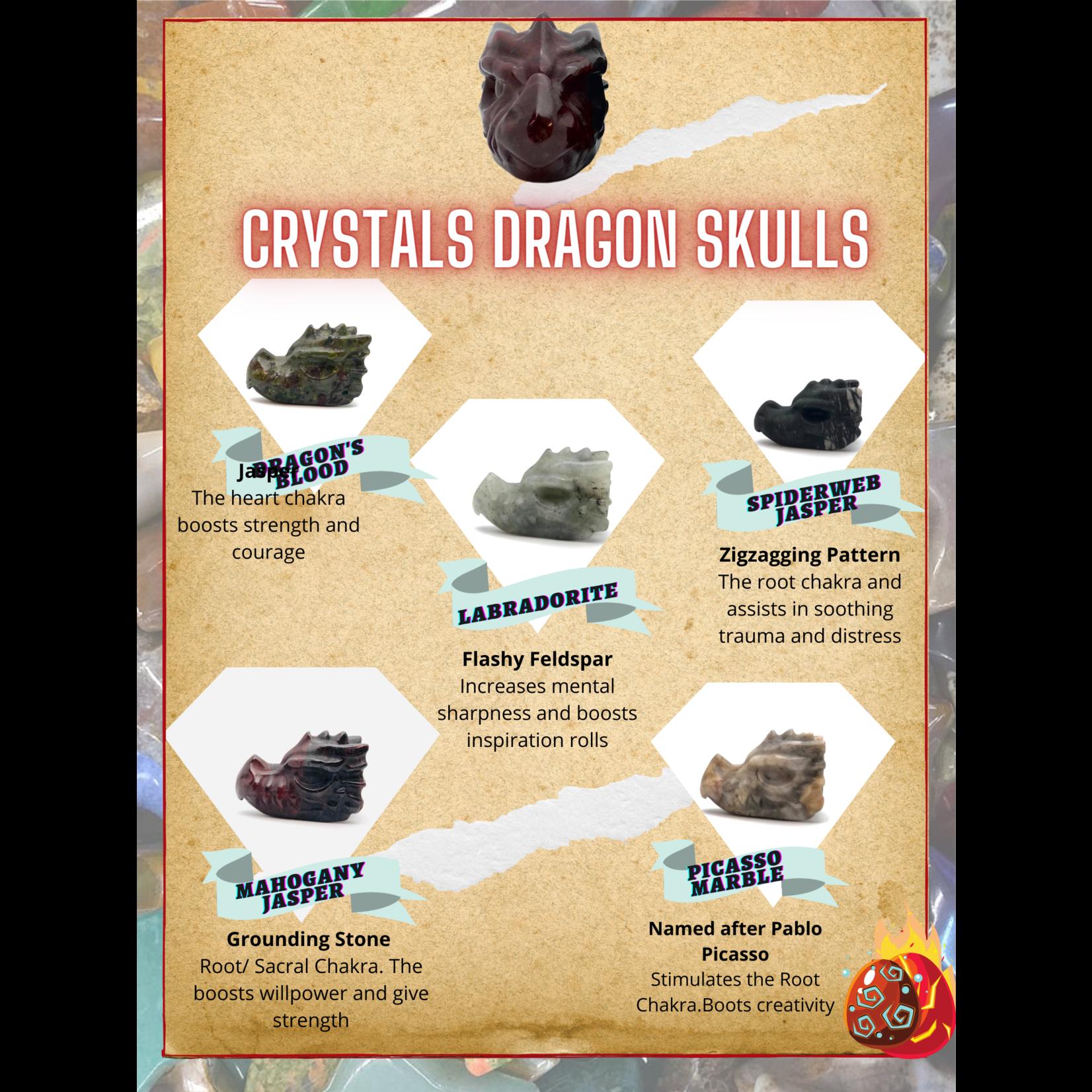 Crystals Dragon Heads