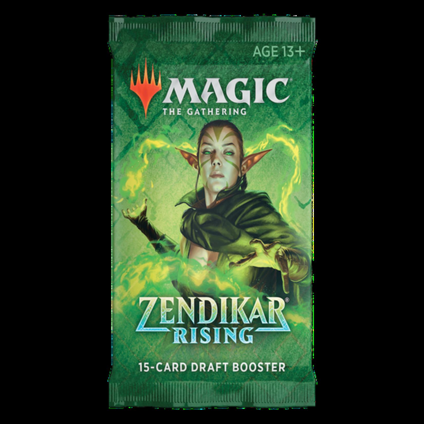 Magic the Gathering CCG: Zendikar Rising Booster Pack