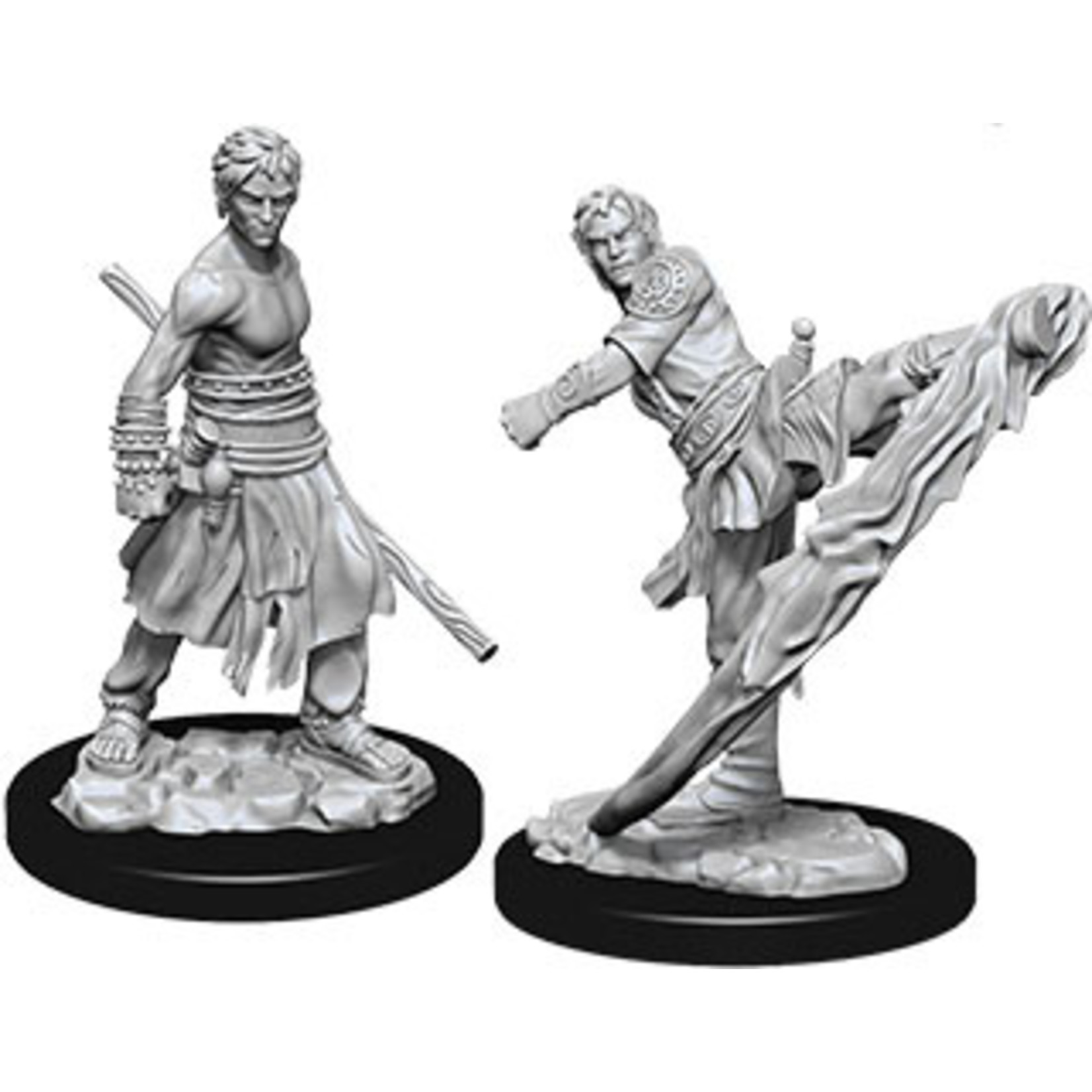Dungeons & Dragons Nolzur`s Marvelous Unpainted Miniatures: W10 Male Half-Elf Monk