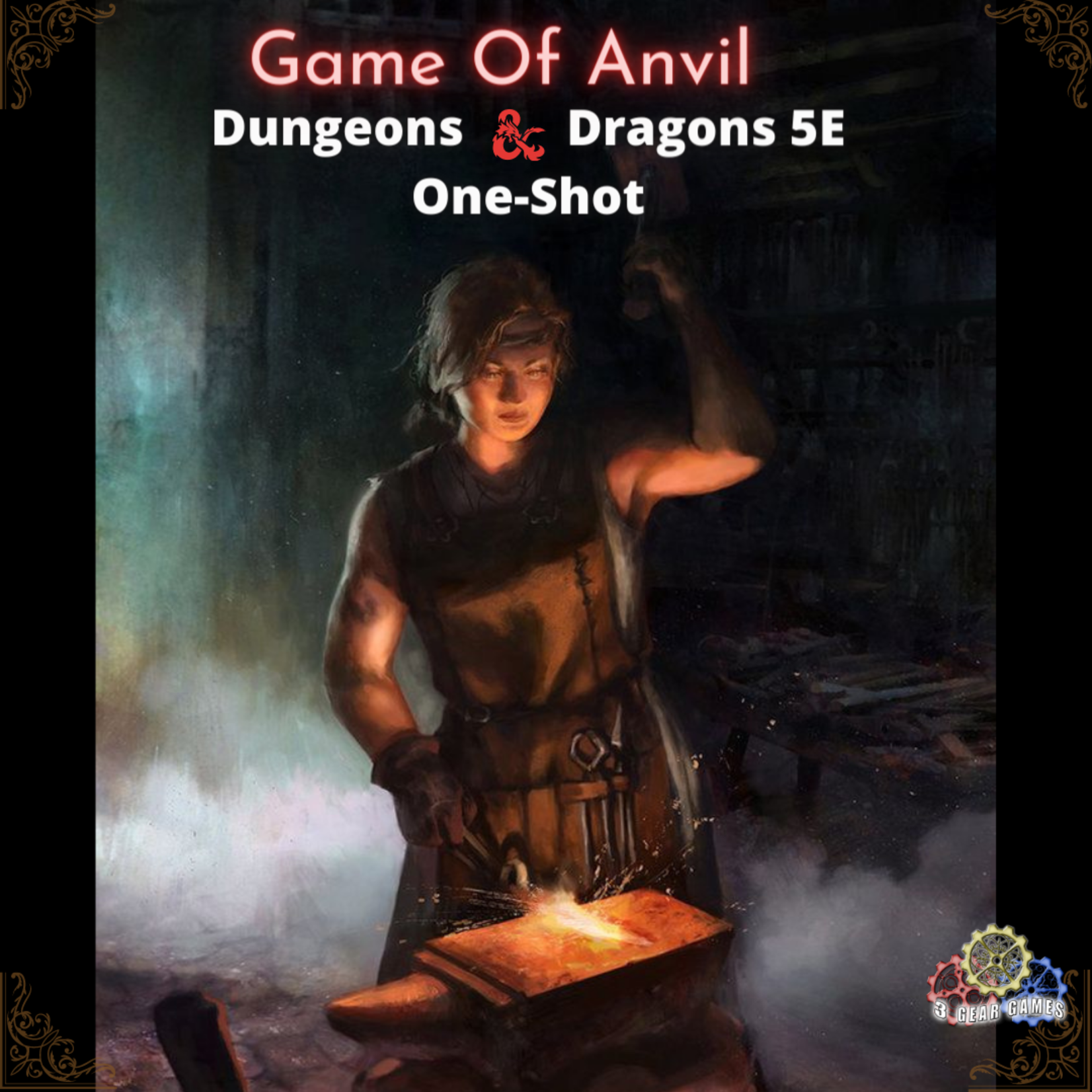 Dungeons and Dragons 5e One-Shot RPG - Game Of Anvil