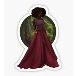 Moss Forest Enchantress Elf - Blackfeather Boutique Fashion Art