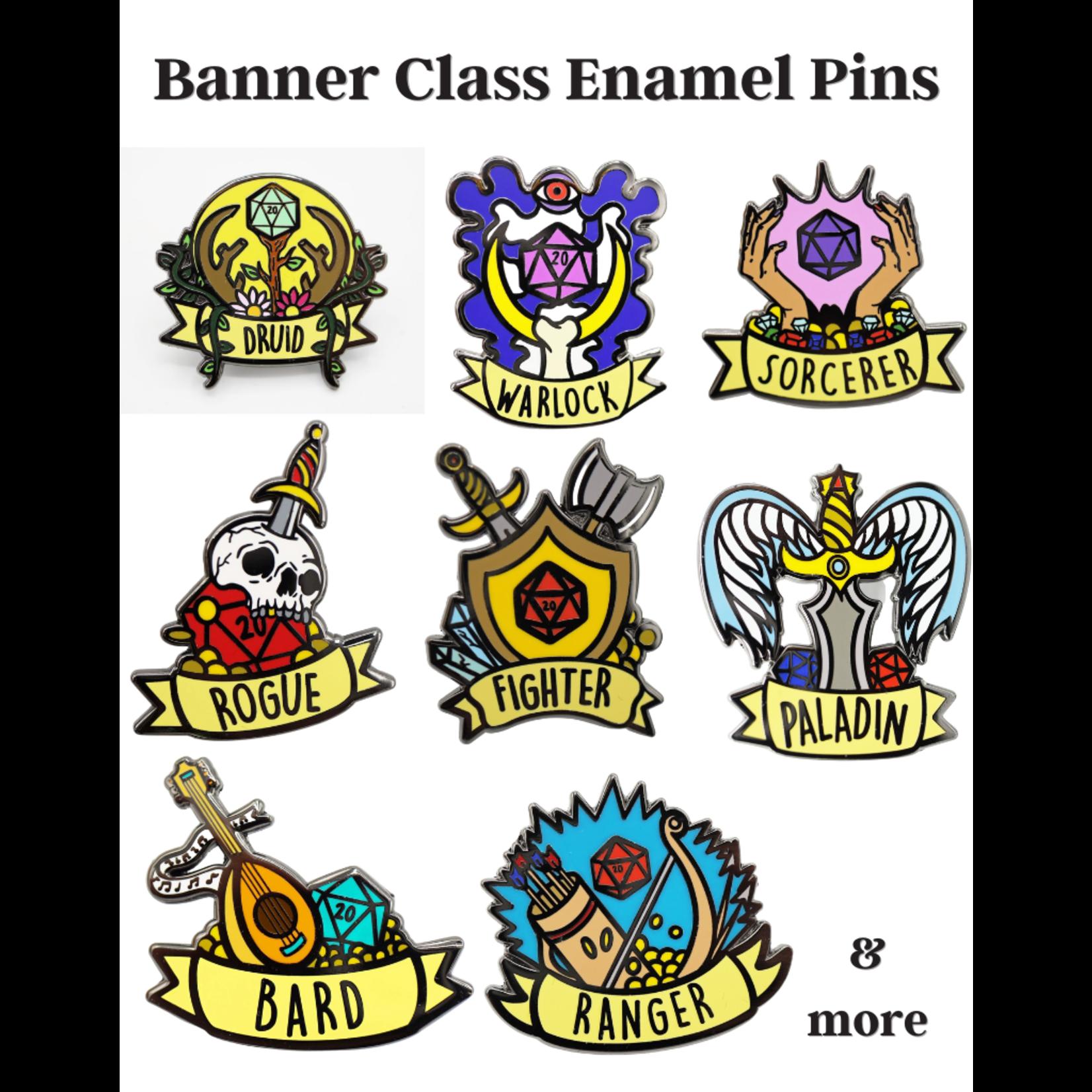 Banner Class Enamel Pins